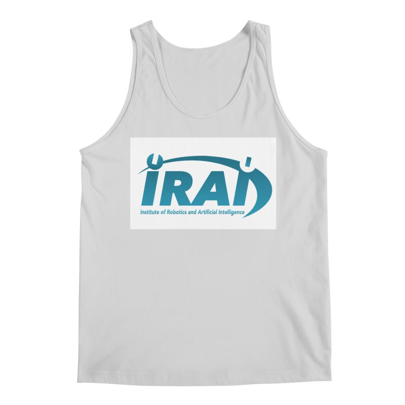 IRAI - Institute of Robotics and Artificial Intelligence Logo (We Lost the Sky) Men's Tank by Spaceboy Books LLC's Artist Shop