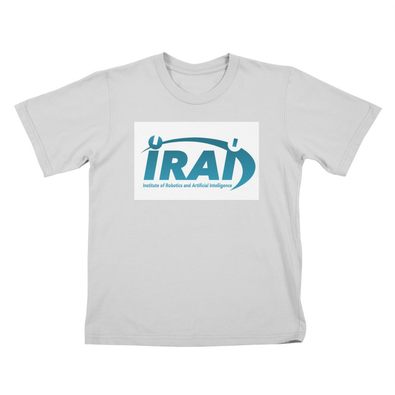 IRAI - Institute of Robotics and Artificial Intelligence Logo (We Lost the Sky) Kids T-Shirt by Spaceboy Books LLC's Artist Shop