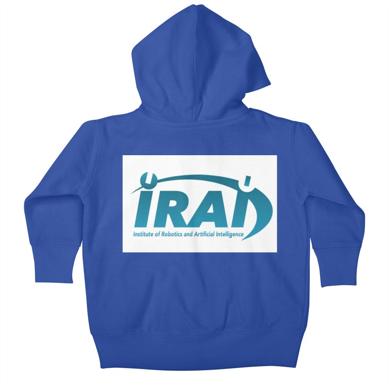 IRAI - Institute of Robotics and Artificial Intelligence Logo (We Lost the Sky) Kids Baby Zip-Up Hoody by Spaceboy Books LLC's Artist Shop