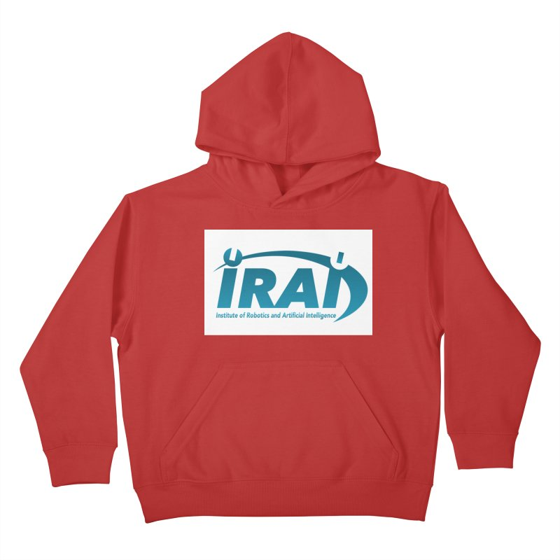 IRAI - Institute of Robotics and Artificial Intelligence Logo (We Lost the Sky) Kids Pullover Hoody by Spaceboy Books LLC's Artist Shop