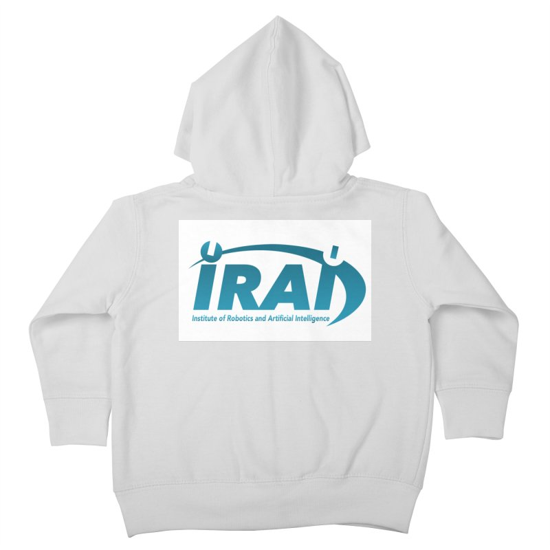 IRAI - Institute of Robotics and Artificial Intelligence Logo (We Lost the Sky) Kids Toddler Zip-Up Hoody by Spaceboy Books LLC's Artist Shop
