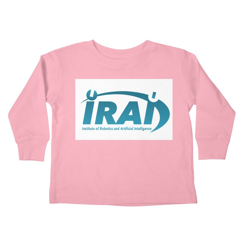 IRAI - Institute of Robotics and Artificial Intelligence Logo (We Lost the Sky) Kids Toddler Longsleeve T-Shirt by Spaceboy Books LLC's Artist Shop