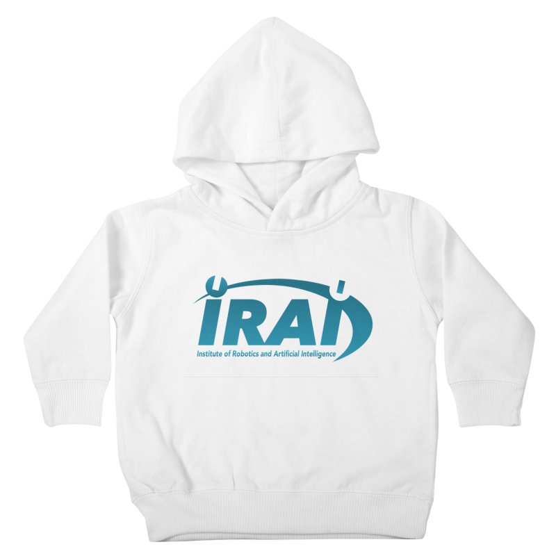 IRAI - Institute of Robotics and Artificial Intelligence Logo (We Lost the Sky) Kids Toddler Pullover Hoody by Spaceboy Books LLC's Artist Shop