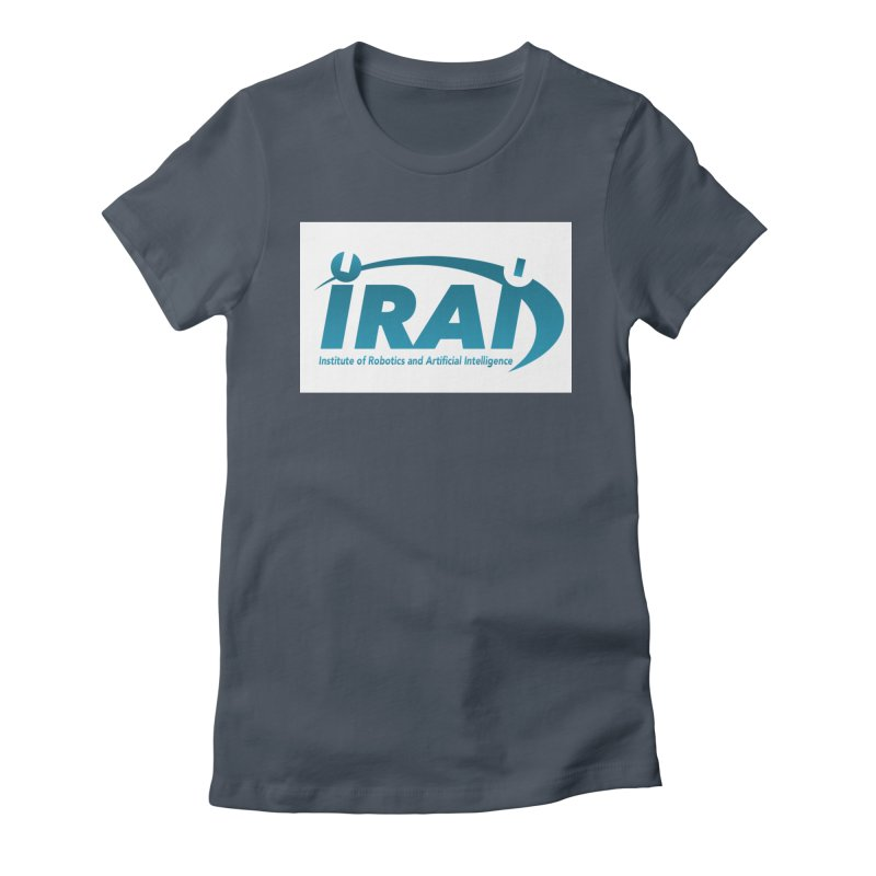 IRAI - Institute of Robotics and Artificial Intelligence Logo (We Lost the Sky) Women's T-Shirt by Spaceboy Books LLC's Artist Shop