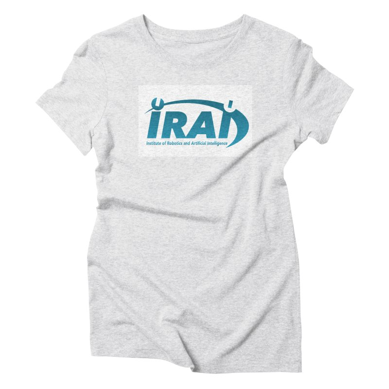 IRAI - Institute of Robotics and Artificial Intelligence Logo (We Lost the Sky) Women's Triblend T-Shirt by Spaceboy Books LLC's Artist Shop