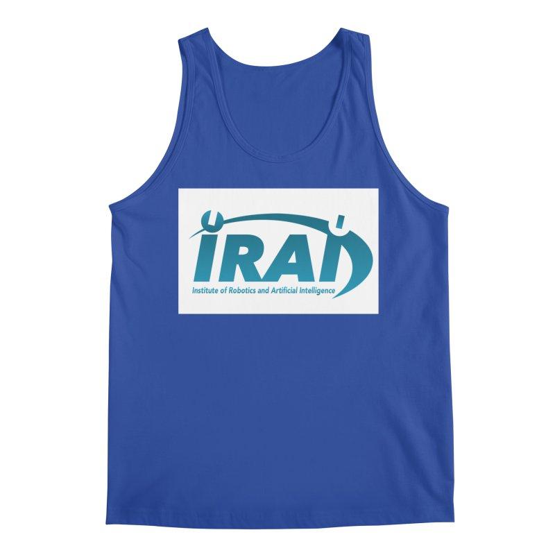 IRAI - Institute of Robotics and Artificial Intelligence Logo (We Lost the Sky) Men's Regular Tank by Spaceboy Books LLC's Artist Shop