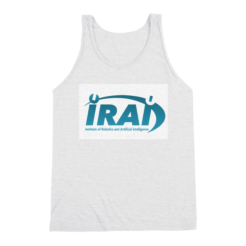 IRAI - Institute of Robotics and Artificial Intelligence Logo (We Lost the Sky) Men's Triblend Tank by Spaceboy Books LLC's Artist Shop