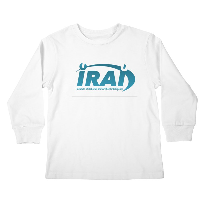 IRAI - Institute of Robotics and Artificial Intelligence Logo (We Lost the Sky) Kids Longsleeve T-Shirt by Spaceboy Books LLC's Artist Shop