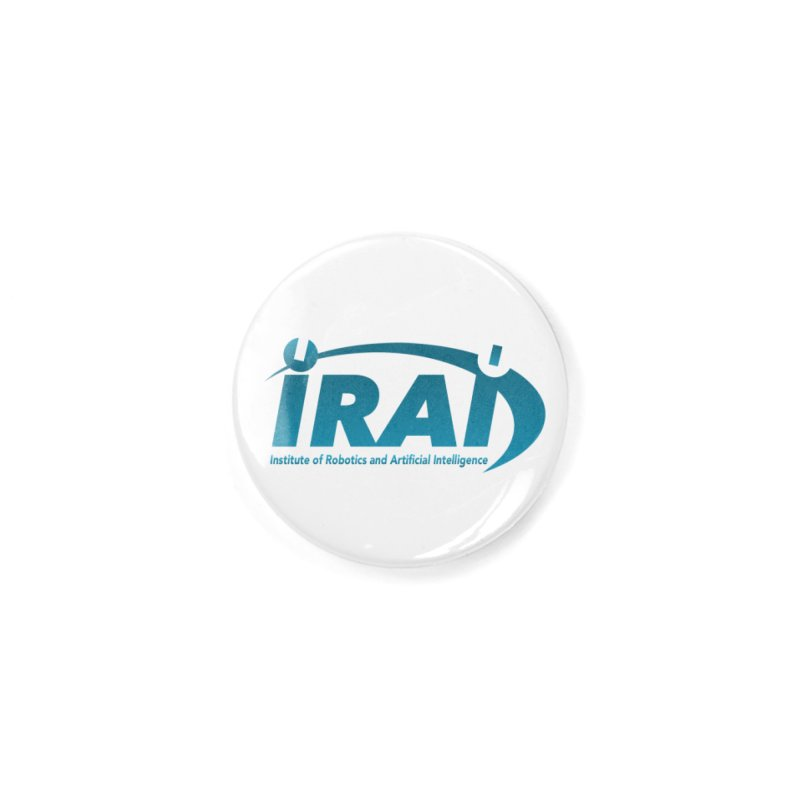 IRAI - Institute of Robotics and Artificial Intelligence Logo (We Lost the Sky) Accessories Button by Spaceboy Books LLC's Artist Shop