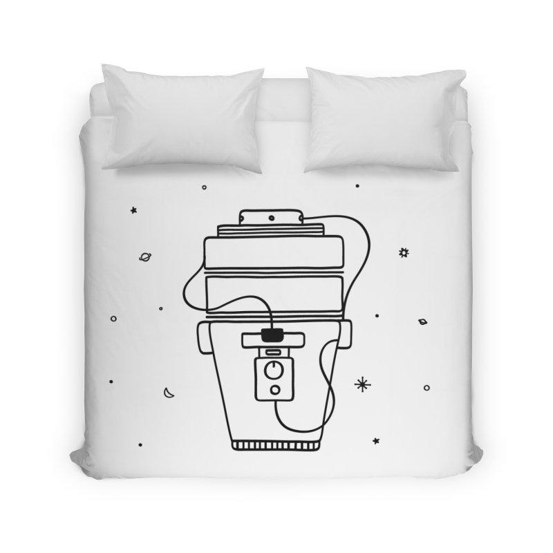 Space Bucket #1 nn Home by spacebuckets's Artist Shop