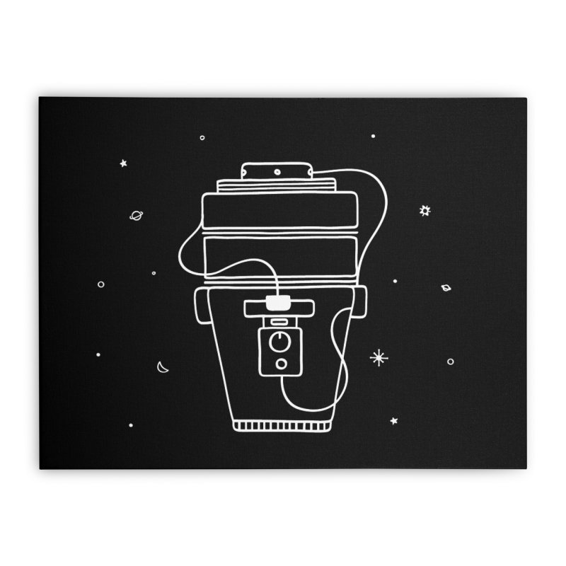 Space Bucket #1 white nn Home by spacebuckets's Artist Shop