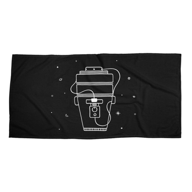 Space Bucket #1 white nn Accessories by spacebuckets's Artist Shop