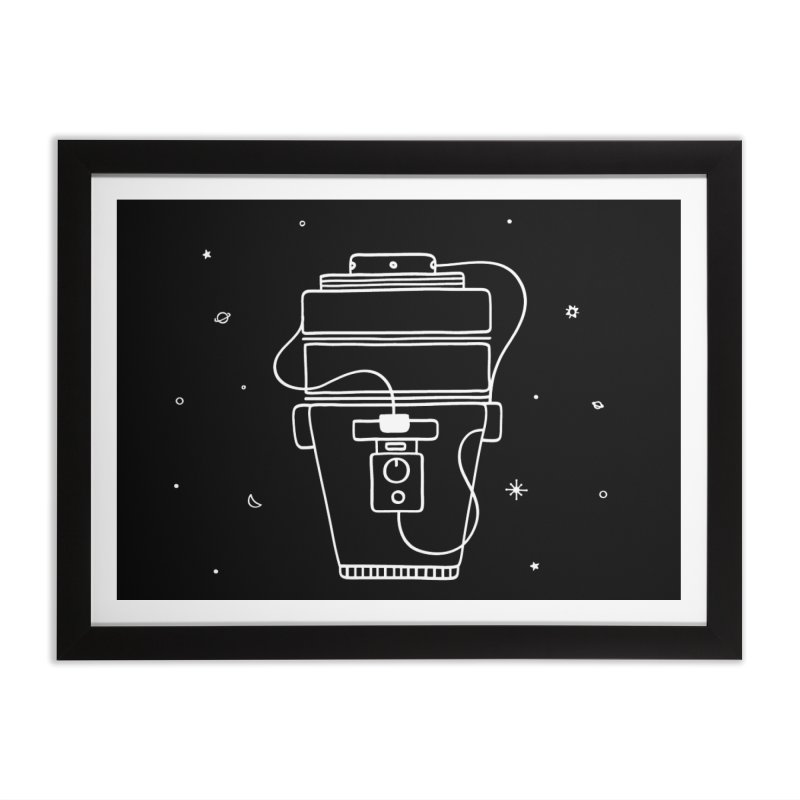 Space Bucket #1 white nn Home by spacebuckets's Artist Shop