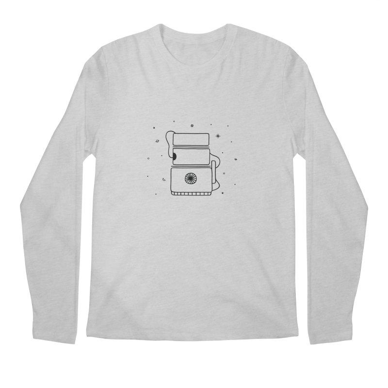 Space Bucket #2 Men's Regular Longsleeve T-Shirt by spacebuckets's Artist Shop