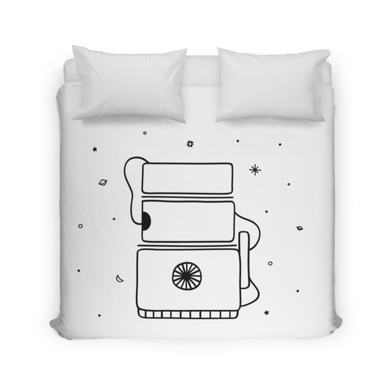 Space Bucket #2 Home by spacebuckets's Artist Shop
