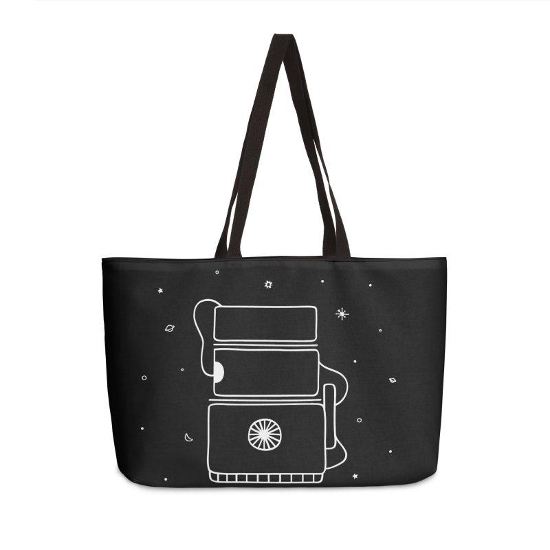 Space Bucket #2 white Accessories by spacebuckets's Artist Shop