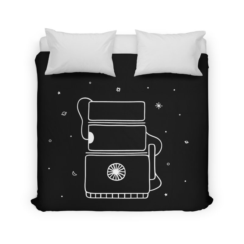 Space Bucket #2 white Home by spacebuckets's Artist Shop