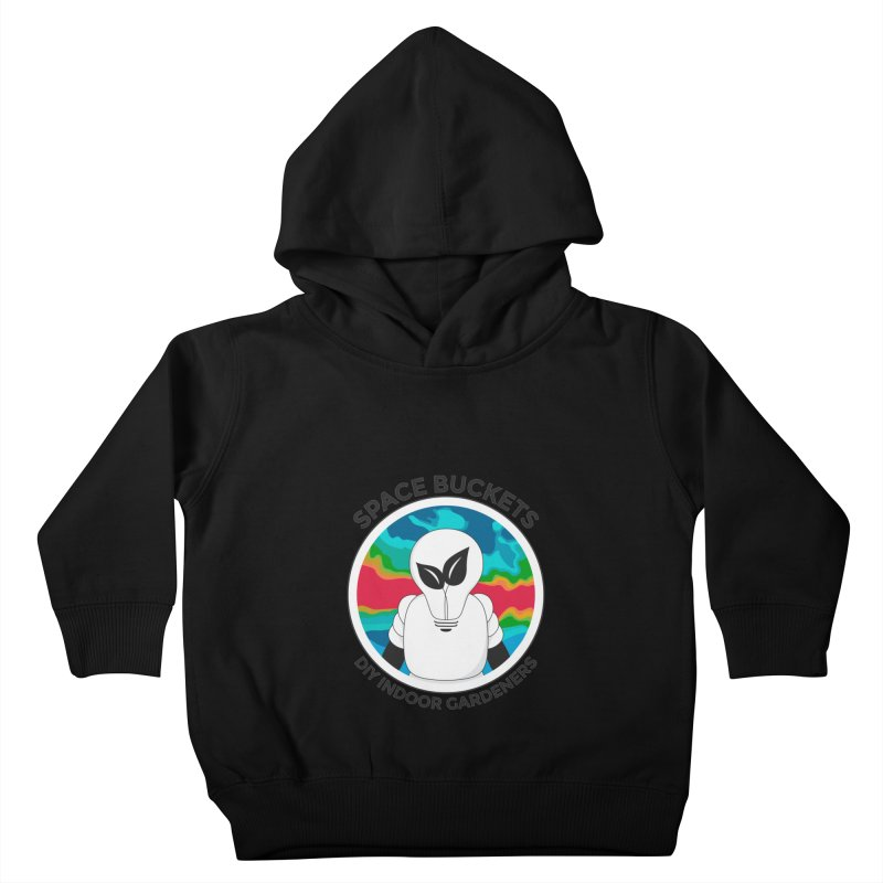 SB logo Kids Toddler Pullover Hoody by spacebuckets's Artist Shop