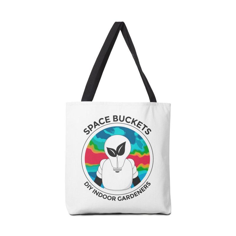 SB logo Accessories Bag by spacebuckets's Artist Shop
