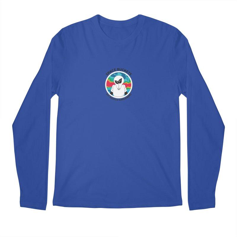 SB logo black Men's Regular Longsleeve T-Shirt by spacebuckets's Artist Shop