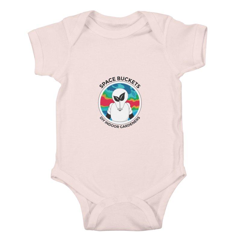 SB logo black Kids Baby Bodysuit by spacebuckets's Artist Shop