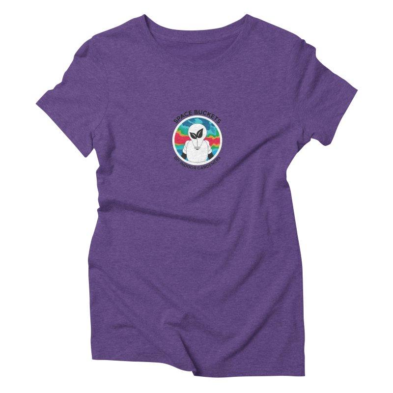 SB logo black Women's Triblend T-shirt by spacebuckets's Artist Shop
