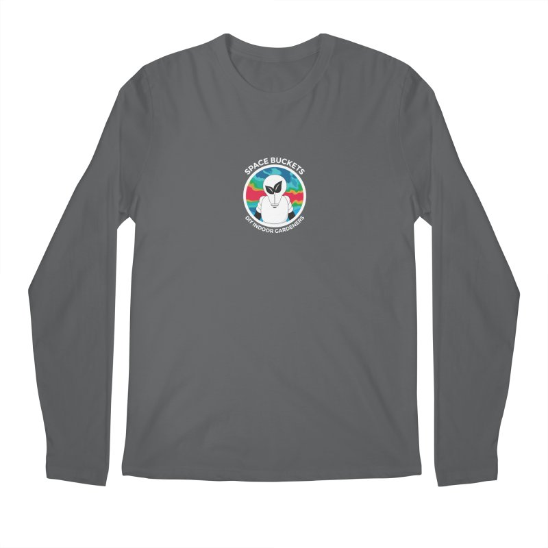 SB logo white Men's Longsleeve T-Shirt by spacebuckets's Artist Shop