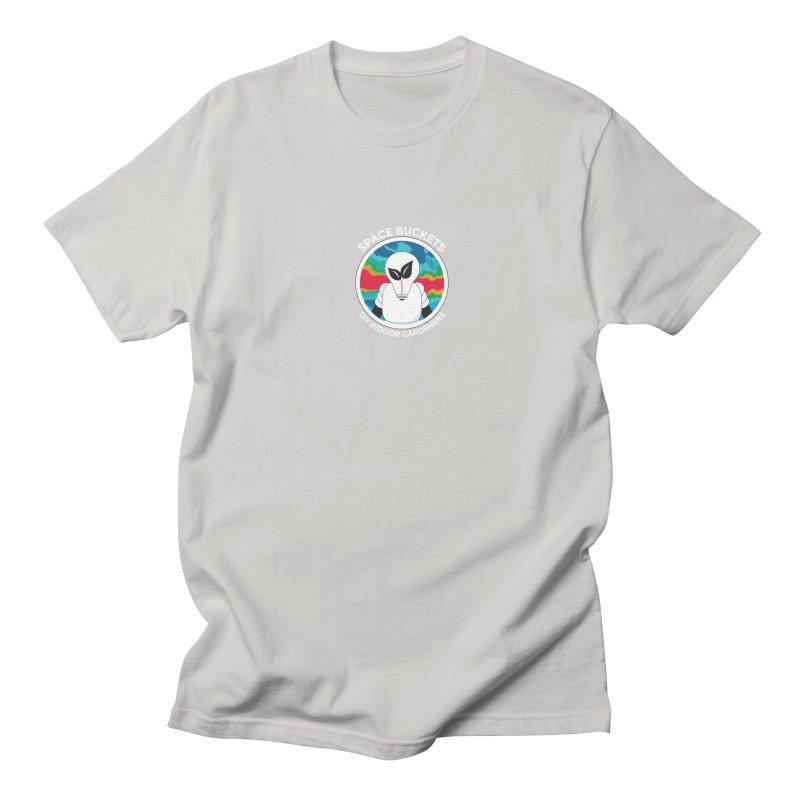 SB logo white Women's Unisex T-Shirt by spacebuckets's Artist Shop