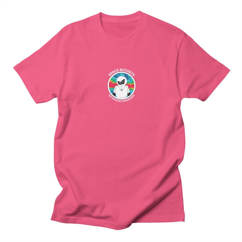SB logo white Men's T-shirt by spacebuckets's Artist Shop
