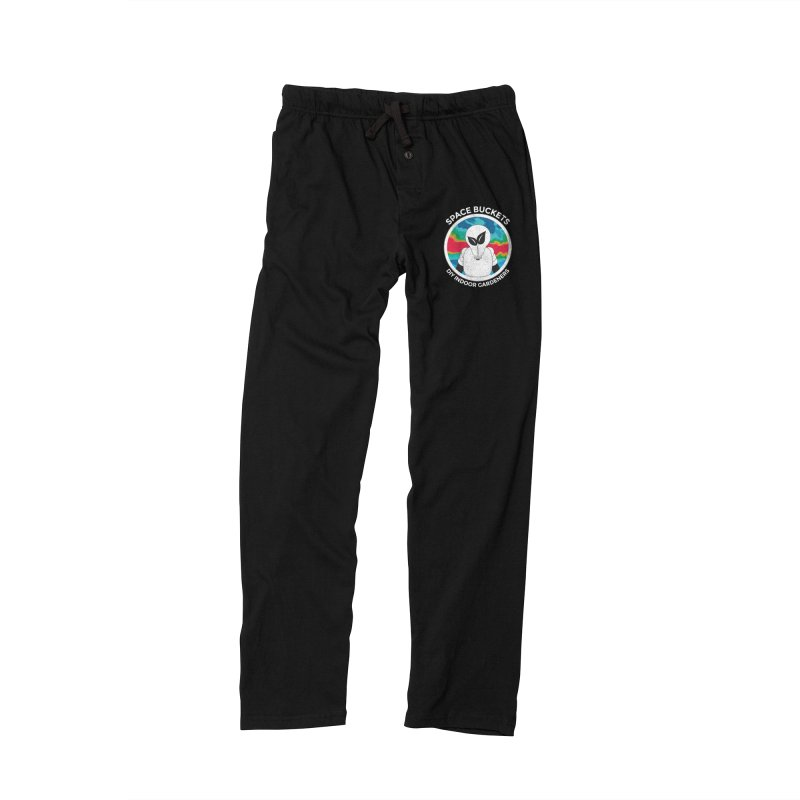 SB logo white Men's Lounge Pants by spacebuckets's Artist Shop