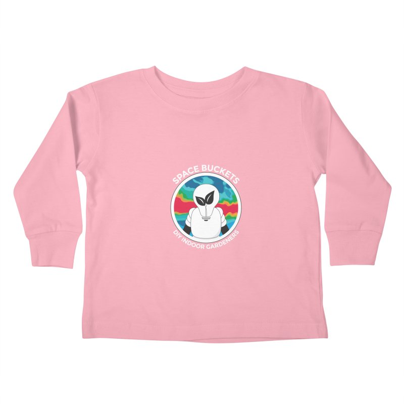 SB logo white Kids Toddler Longsleeve T-Shirt by spacebuckets's Artist Shop