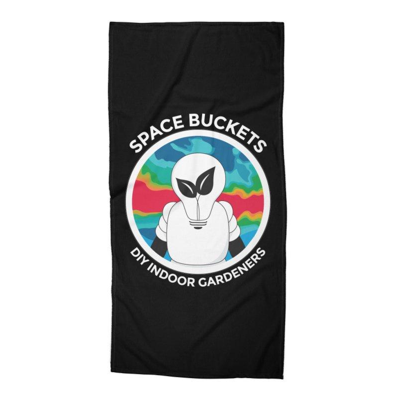 SB logo white Accessories by spacebuckets's Artist Shop