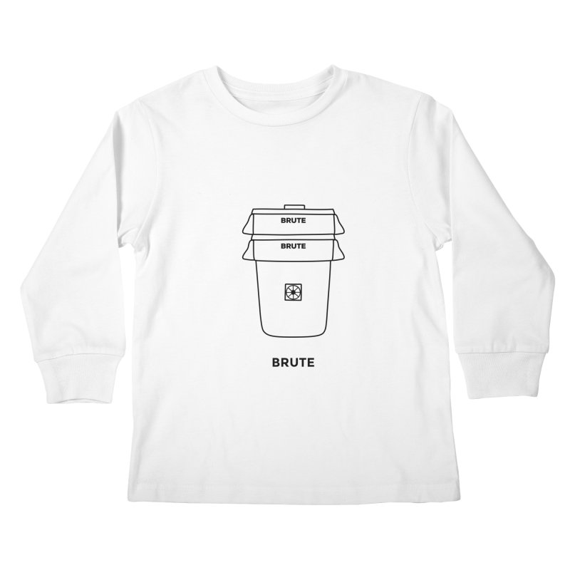 Brute Bucket - black   by spacebuckets's Artist Shop