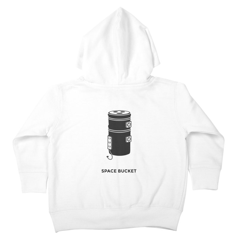 Space Bucket - Original Kids Toddler Zip-Up Hoody by spacebuckets's Artist Shop
