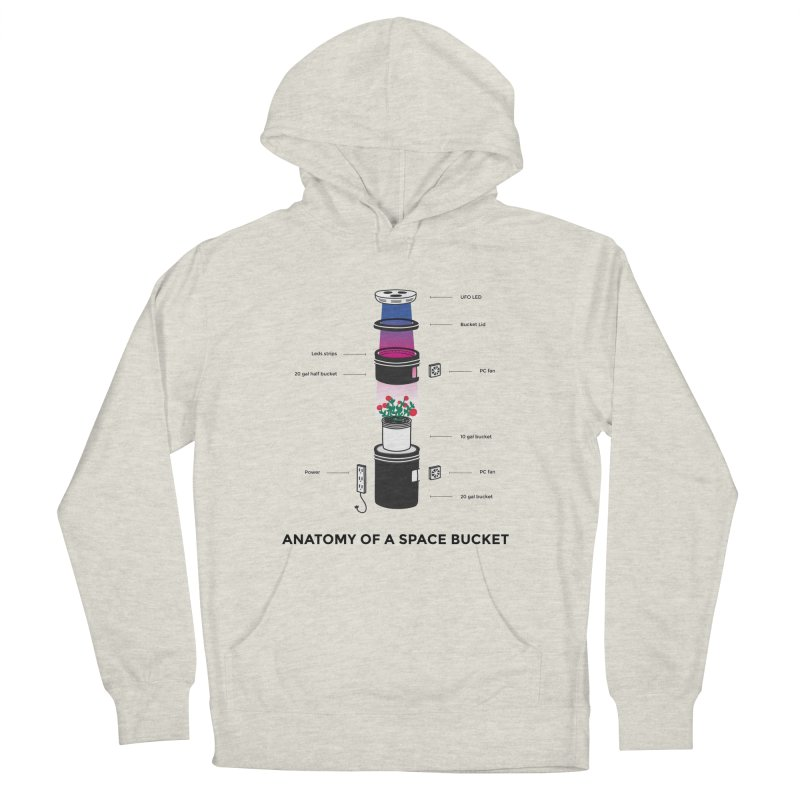 Anatomy of a Space Bucket Men's Pullover Hoody by spacebuckets's Artist Shop