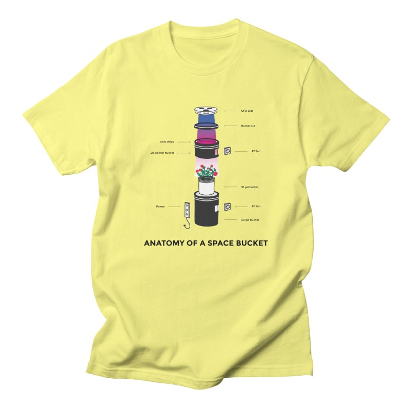 Anatomy of a Space Bucket Women's Unisex T-Shirt by spacebuckets's Artist Shop