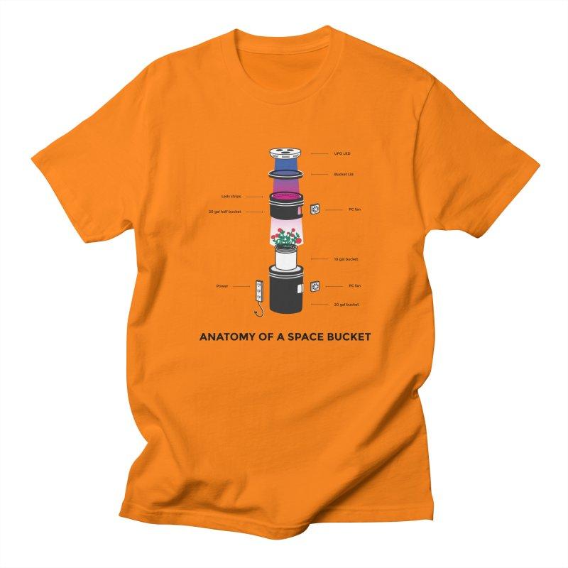 Anatomy of a Space Bucket Women's Unisex T-Shirt by spacebuckets's Artist Shop