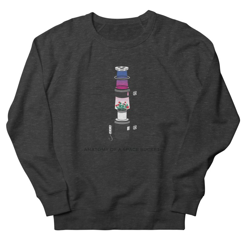 Anatomy of a Space Bucket Women's Sweatshirt by spacebuckets's Artist Shop