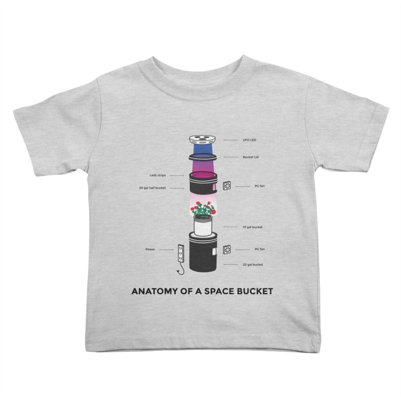Anatomy of a Space Bucket   by spacebuckets's Artist Shop