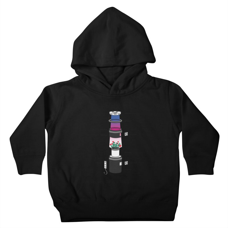 Anatomy of a Space Bucket Kids Toddler Pullover Hoody by spacebuckets's Artist Shop