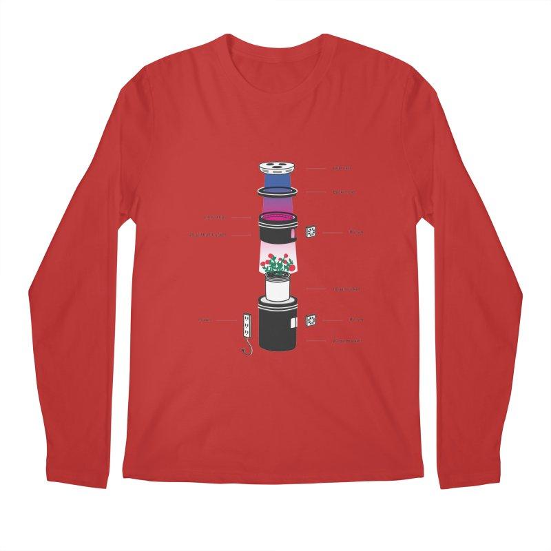 Anatomy of a Space Bucket - no title Men's Longsleeve T-Shirt by spacebuckets's Artist Shop