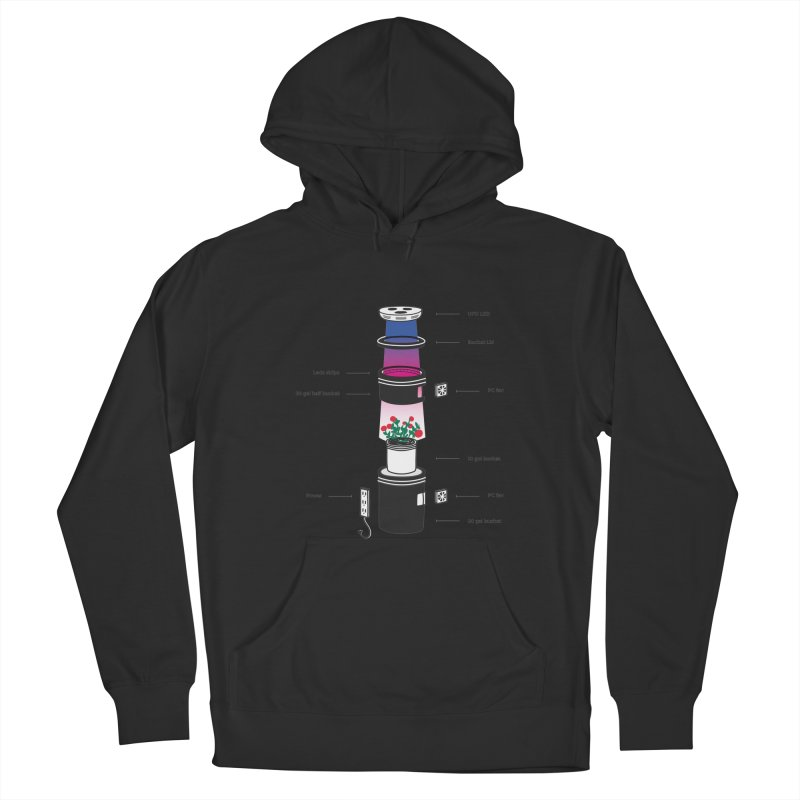 Anatomy of a Space Bucket - no title Women's French Terry Pullover Hoody by spacebuckets's Artist Shop
