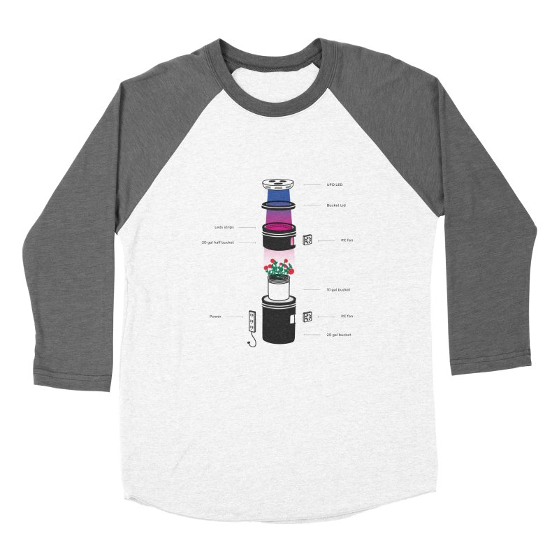 Anatomy of a Space Bucket - no title Women's Longsleeve T-Shirt by spacebuckets's Artist Shop
