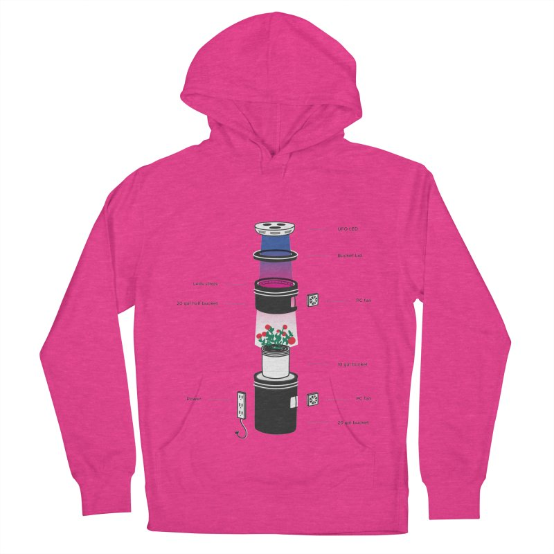 Anatomy of a Space Bucket - no title Men's Pullover Hoody by spacebuckets's Artist Shop