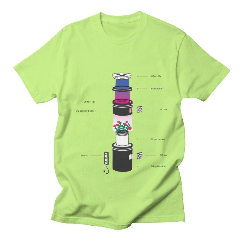 Anatomy of a Space Bucket - no title Women's Regular Unisex T-Shirt by spacebuckets's Artist Shop