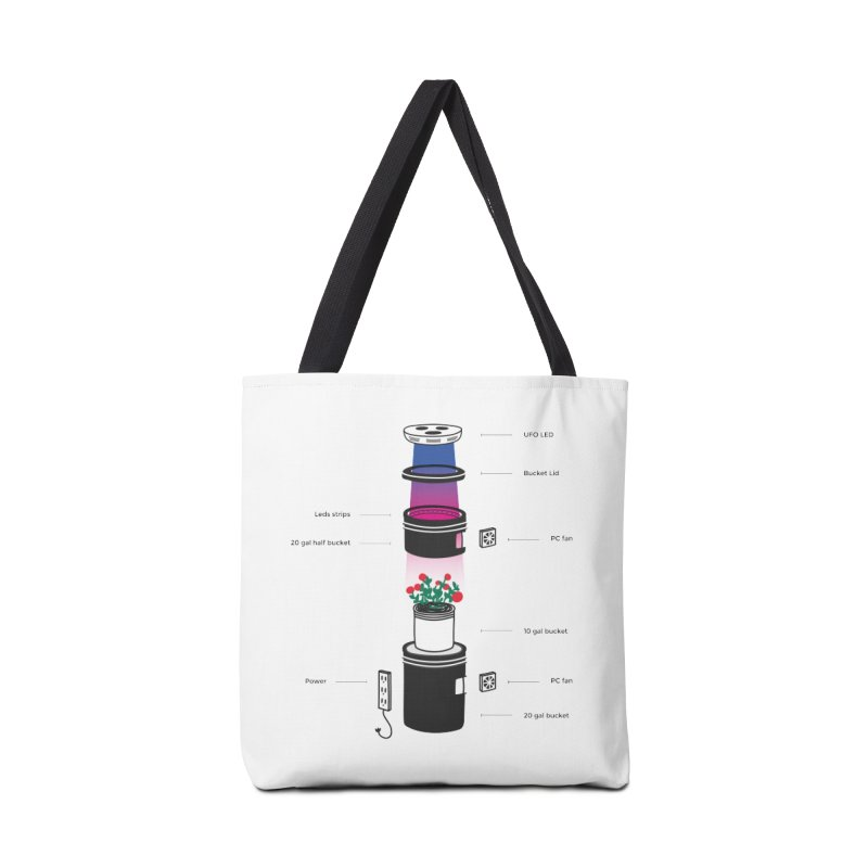 Anatomy of a Space Bucket - no title Accessories Tote Bag Bag by spacebuckets's Artist Shop