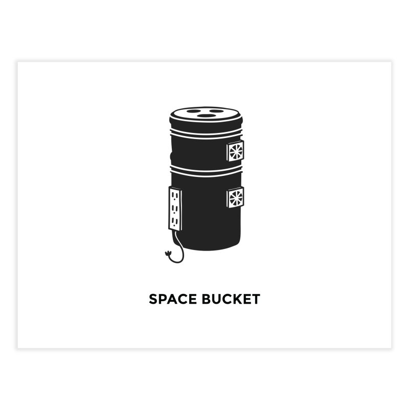 Space Bucket - Original sm   by spacebuckets's Artist Shop