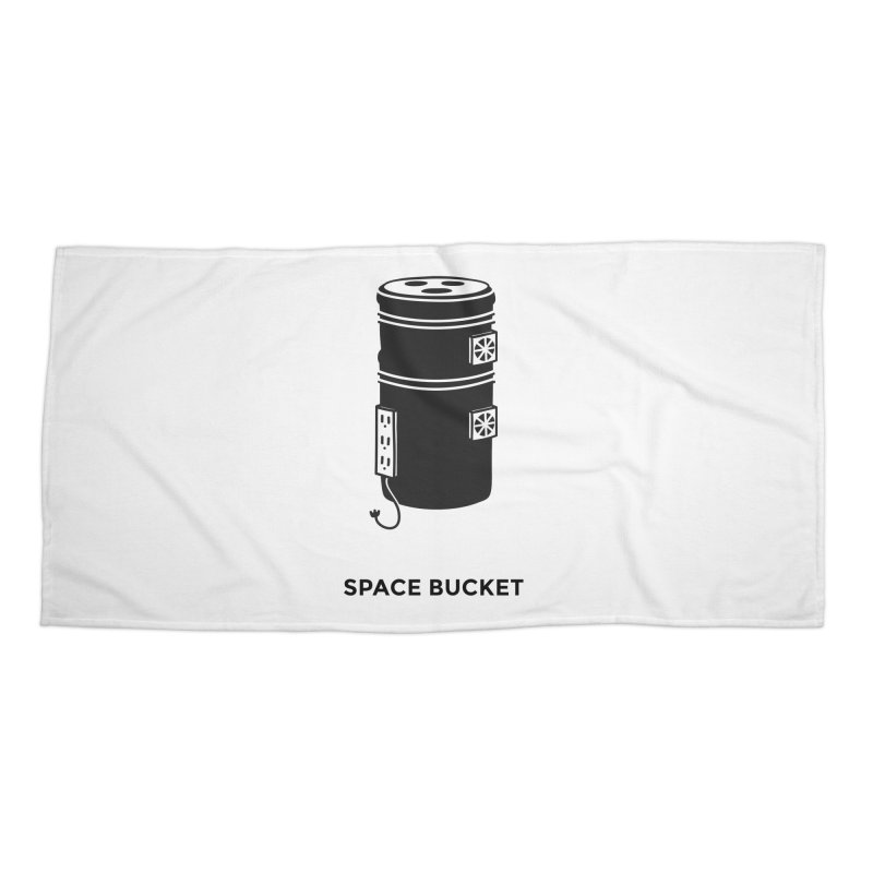 Space Bucket - Original sm Accessories Beach Towel by spacebuckets's Artist Shop