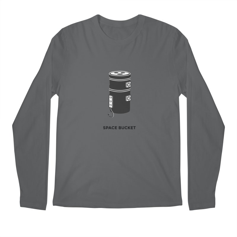 Space Bucket - Original sm Men's Longsleeve T-Shirt by spacebuckets's Artist Shop