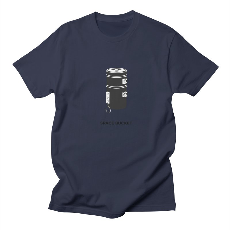 Space Bucket - Original sm Women's T-Shirt by spacebuckets's Artist Shop